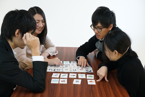 グループワーク ゲーム