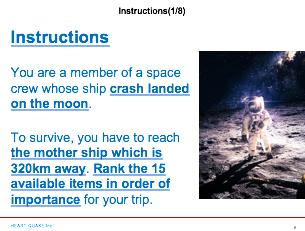 NASAゲーム 英語