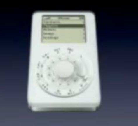 初代 iPhone 発表