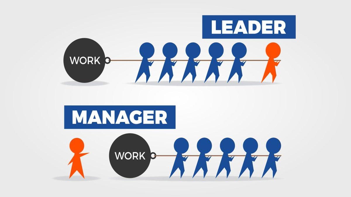 リーダー マネージャー