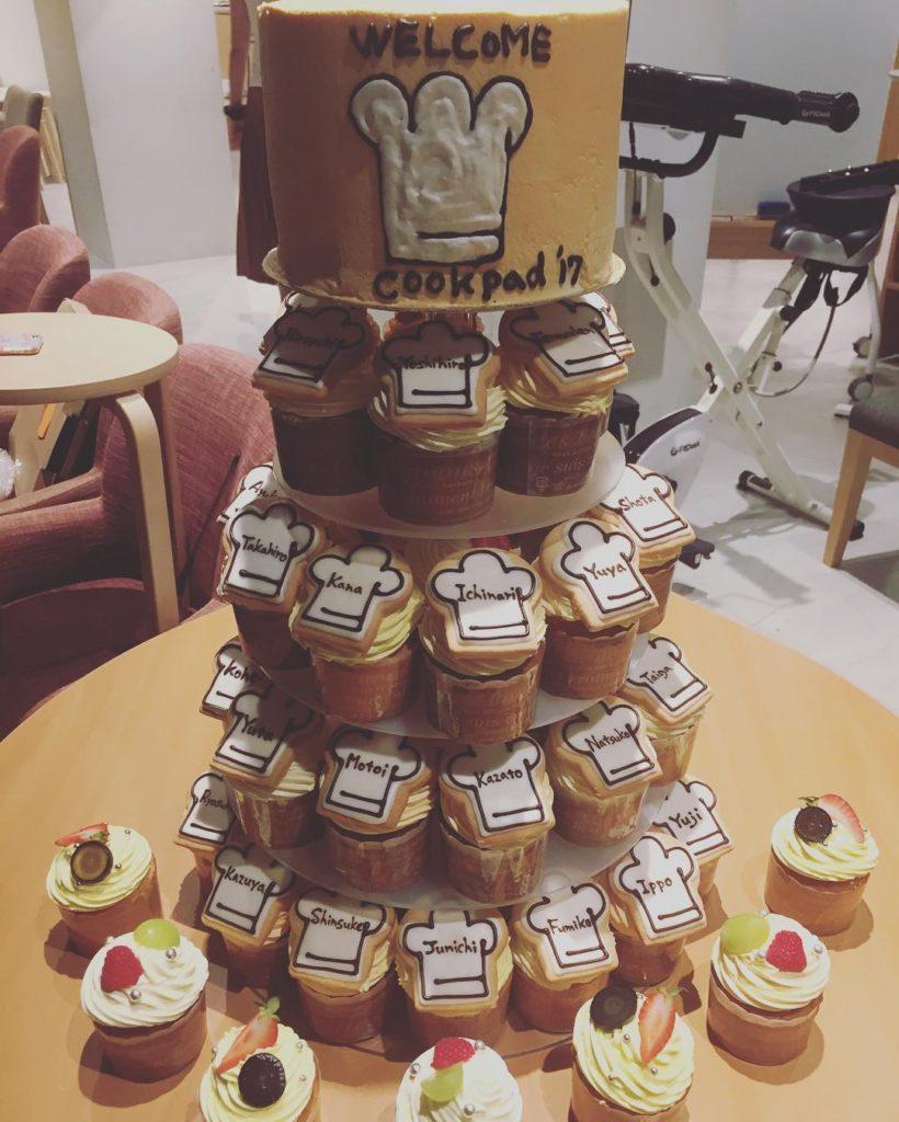 入社式 ケーキ