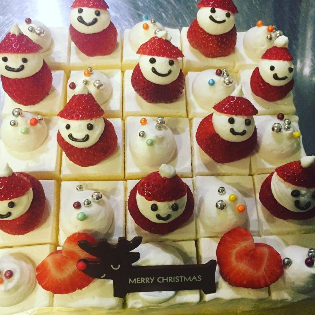 会社 クリスマスケーキ