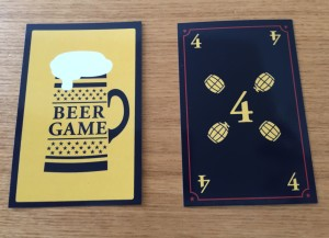 ビールゲーム 注文カード